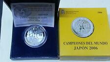 Año 2006. 10 EUROS DE PLATA. ESPAÑA. Campeonatos del Mundo Japón 2006.