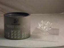 Swarovski, Waterlily Candleholder(Sm.), Retired, Mib