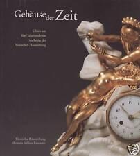 Fachbuch Gehäuse der Zeit Uhren aus 5 Jahrhunderten, sehr seltenes Buch, NEU