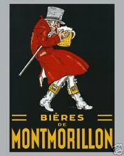BIERES de MONTMORILLON Beer Food Wine Poster 16X20 004C