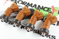 4 - 320cc BOSCH Fuel Injectors OBD1 Honda B16 B18 Civic Integra
