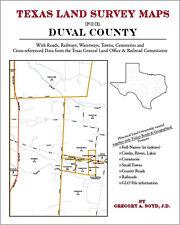 Duval County Texas Land Survey Maps Genealogy History