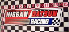 Datsun Nissan Racing Sticker- 240Z 260Z 120Y SS 280Z 100A
