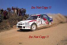 Kenneth Eriksson Mitsubishi Lancer Evo I Portugal Rally 1993 fotografía 2