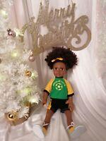 Talking Jamaican Dolls |Toya| Zuree Brand| UK |Baby |Toddler| Afro CaribbeanToys