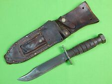 "US Vietnam CAMILLUS Jet Pilot Survival Commando Military 6"" Fighting Knife"