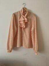 Vintage Ladies Peach Shirts
