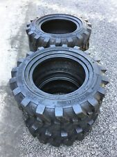 4 23x85 12 Skid Steer Tires 6 Ply 23x850 12 For Bobcatcasenew Holland Amp More
