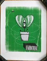OF MONTREAL Original Silkscreen Poster Signed/Numbered Hollywood Palladium Mint