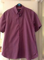 Autograph mans slim fit short sleeve shirt size large