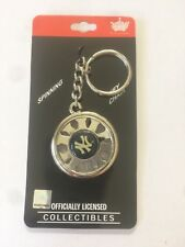 New York Yankees Spinning Keychain Team Logo Key Ring MLB