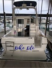 BOAT DECALS CUSTOM NAME STICKER 6 X 40 PERSONALIZED DECAL LETTERING PONTOON