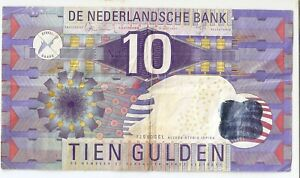Netherlands 10  gulden 1997