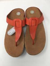 FITFLOPS Ibiza Cork Sandals- Flame - UK 3, UK 4, UK 6, UK 8, UK 9