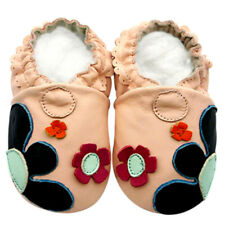 Soft Sole Leather Baby Shoes Toddler Infant Kid Children FlowerpatchPink 12-18M