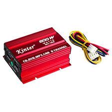 Kinter 12V 2CH Mini Digital Stereo Amplifier Amp f Car Motorcycle SD USB DVD MP3