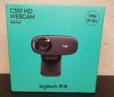 LOGITECH C310 HD USB Webcam (Sealed, 720p, 30FPS)