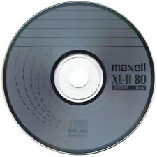 50 x Maxell CD-RW XL-II Audio Music Blank Discs Scratch Proof In Disc Sleeves