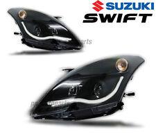 HEAD LIGHT LAMP PROJECTOR CCFL SMOKE BLACK LEN SONAR FOR SUZUKI SWIFT 10-15