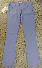 MET Injeans Denim K Flair Pants Jeans Stretch Purple Sz 28 Measured 31x35 Italy