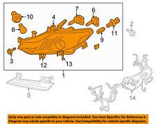 NISSAN OEM 11-14 Murano-Headlight Assembly 260601AA0D