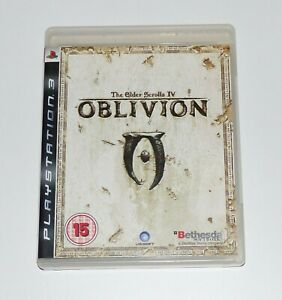 The Elder Scrolls IV: Oblivion ~ Playstation 3 game PS3 ~ With booklet and map