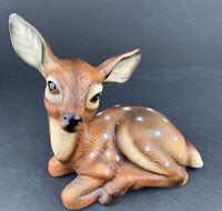 Vintage Norleans Japan Ceramic Deer Fawn Figurine