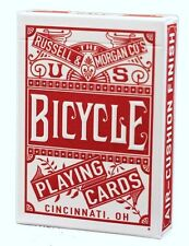 1 Deck Bicycle Chainless Red Standard Poker Playing Cards Brand New Deck
