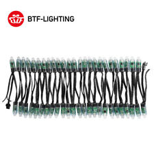 WS2811 IC 12mm RGB 50pcs 5V LED Round String Festival/Decorazioni albero Natale