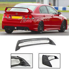 For 06-11 Honda Civic Sedan FD2 FA2 Mugen RR Rear Trunk Wing Spoiler ABS Plastic