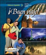 Buen Viaje! (TWE Glencoe Spanish, 3), Schmitt Woodford, 007879143X, Book, Accept