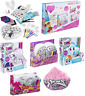 Girls Colour Your Own Cushion,Frozen Bedroom Set Fairy Lights Creative Craft Set