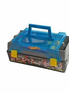 """Hot Wheels Race Case & Track Set Toy Carrying Case 8"""""""