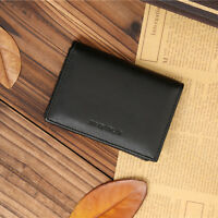 New Men's Faux Leather Wallet Bifold ID Credit Card Holder Purse Money  New.