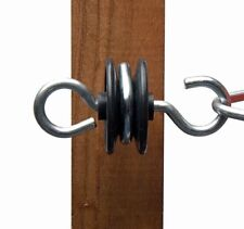 Hotline P28-2 Gate Handle Anchor Pack Of 2no Suitable For Wire Rope and Tape