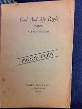 GOD AND MY RIGHT - Alfred Duggan - ADVANCE PROOF COPY