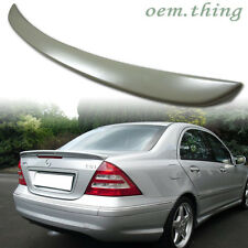 """IN STOCK USA MERCEDES BENZ Sedan W203 2007 A TYPE TRUNK SPOILER C230 C280"