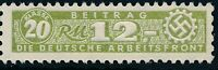 Stamp Germany Revenue WWII Fascism War Era DAF Arbeitsfront 20 1200 MNH