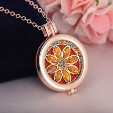Oil Aromatherapy Diffuser Necklace Gift Living Memory Locket Fragrance Essential