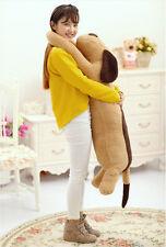 1pcs 110CM Cute Big Plush Dog Giant Large Stuffed Soft Plush Toy Doll Pillow