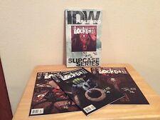 SIGNED Joe Hill Locke & Key Slipcase Series SDCC 2008 Limited IDW Pub + Pic RARE