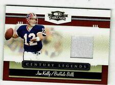 JIM KELLY 2008 DONRUSS THREADS CENTURY LEGENDS GAME USED JERSEY