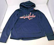 New NHL Washington Capitals Hooded Sweatshirt Performance Youth Kids Size Medium