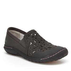 JBU by Jambu Women's Wildflower Moc Slip-On Shoe Charcoal