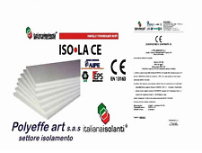 PANNELLI IN POLISTIROLO ISOLAMENTO TERMICO EPS DENSITA' 100 x 50 x 1 KG 25 MC