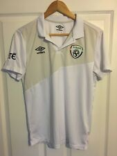 2014/2015 Republic of Ireland polo football shirt Umbro medium men's rare