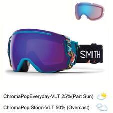 Smith Optics I/O 7 Goggles (Black/ChromaPop/Everyday Violet Mirror/Rose Flash)