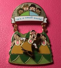 DISNEY PIN - MINNIE MOUSE It's a Small World WDW Featured Attraction 2008 - New