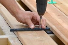 """JOUPLAST  """"FIXEGO""""  INVISIBLE FIXING SYSTEM FOR DECKING BOARDS"""