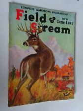 1938 Field and Stream Magazine September issue Whitetail Buck